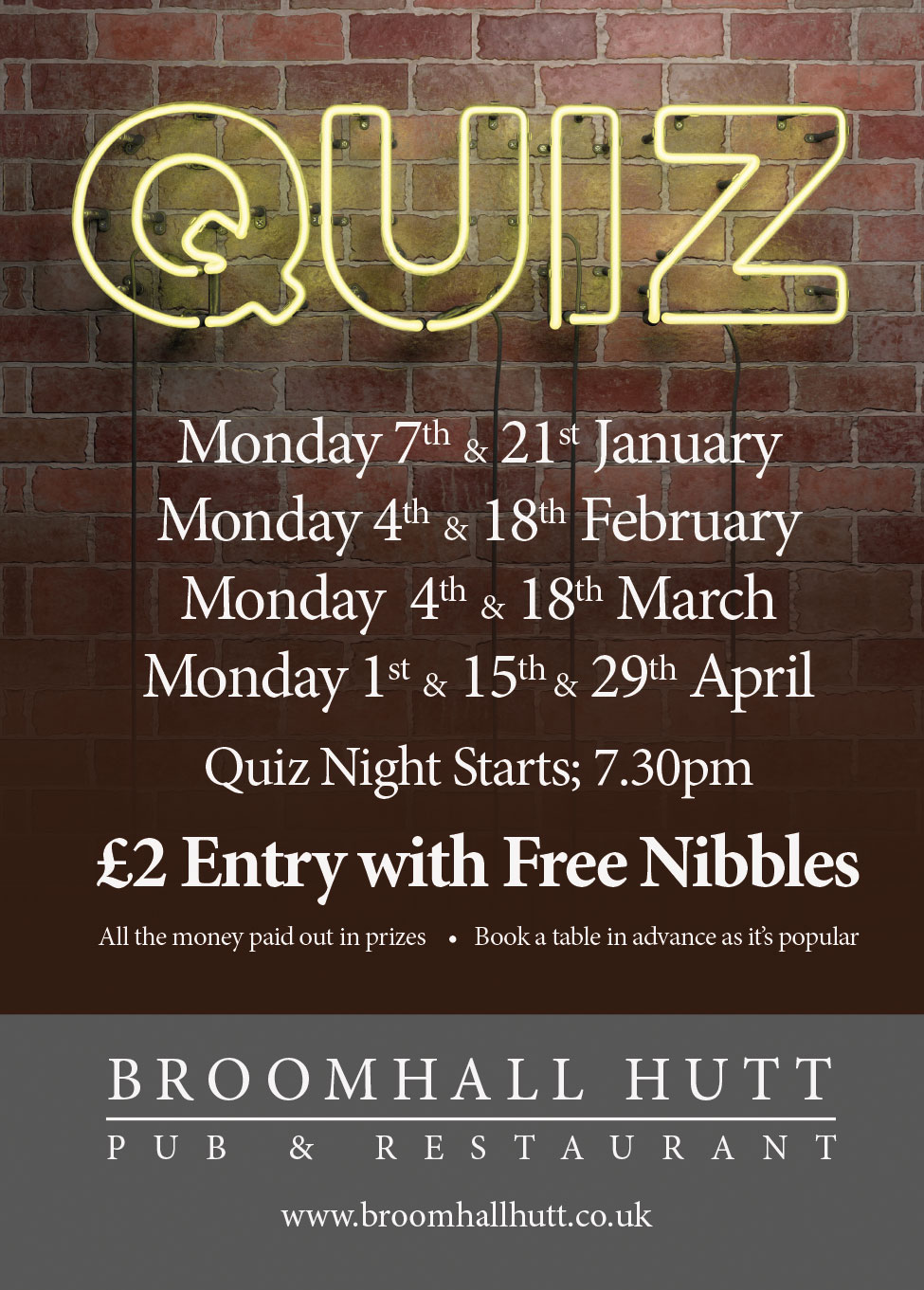Quiz night sunningdale